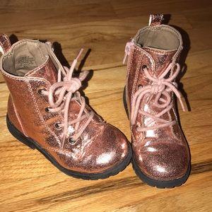 Gap toddler pink boots